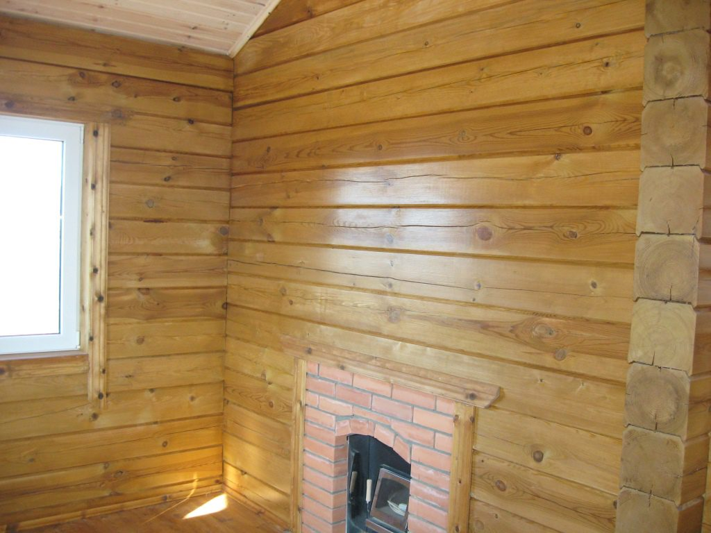 отделка внутренних стен дома