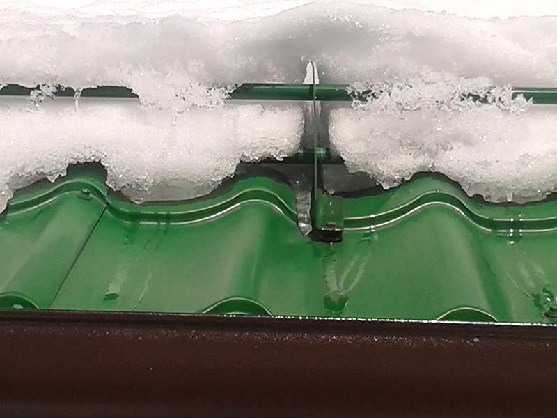 устройство снегозадержателей