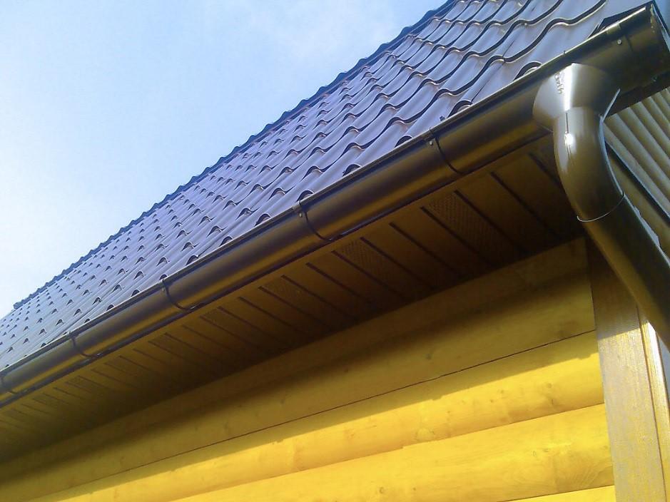 отделка крыши дома