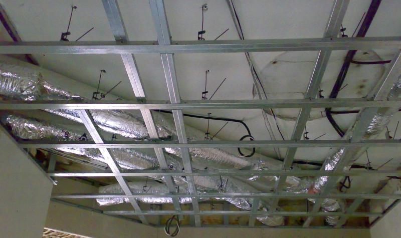 обрешетка потолка цена