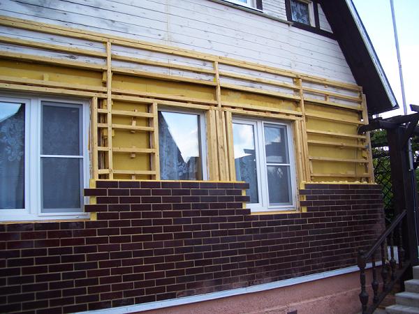 Отделка старого деревянного дома снаружи