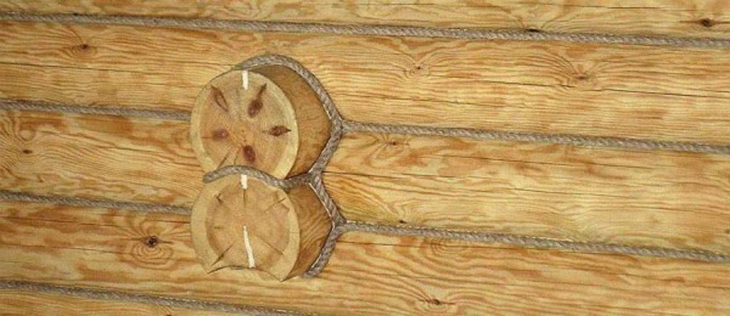 Отделка комнат деревянного дома