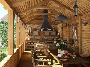 отделка деревянных домов цена