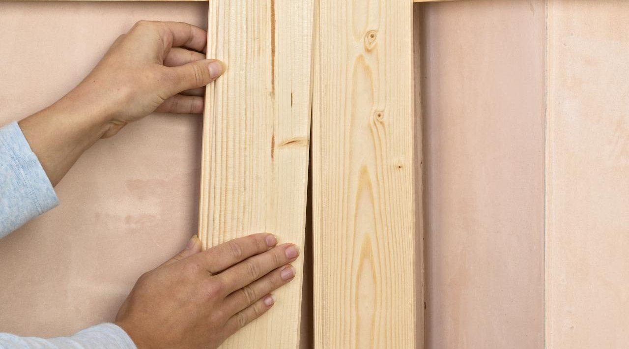 отделка стен деревянного дома вагонкой