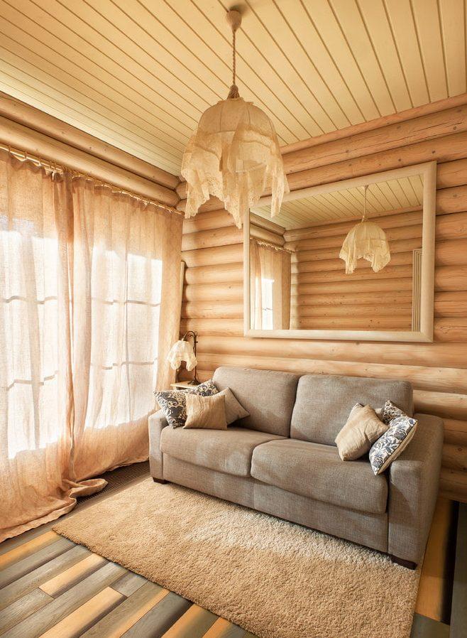 материалы для внутреннней отделке деревянного дома из бревна
