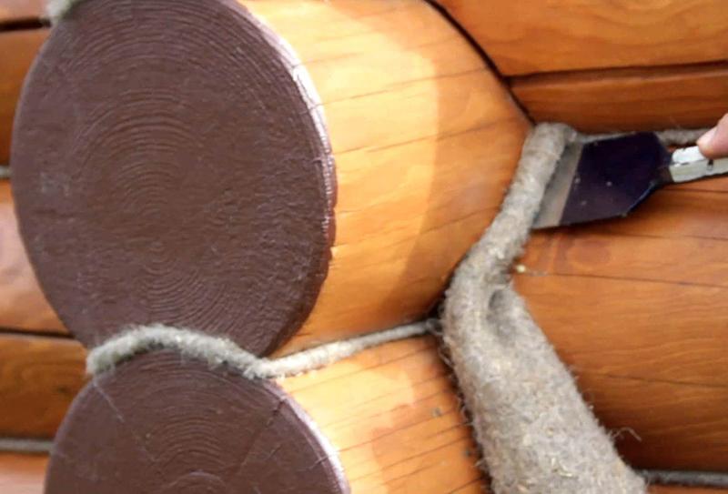 утепление деревянной бани