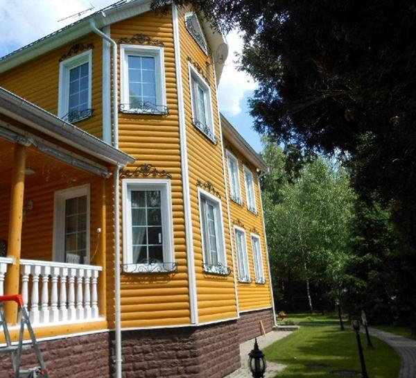 профессиональная покраска дома