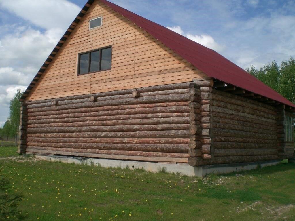 отделка крыши