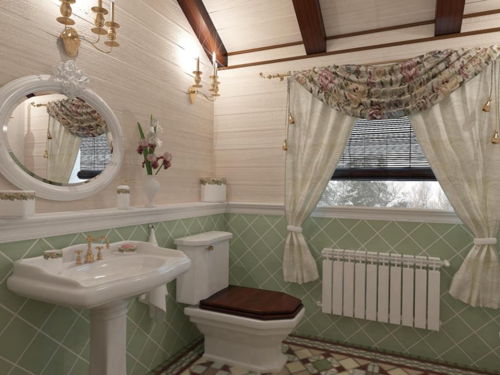 Установка сантехники в деревянных домах