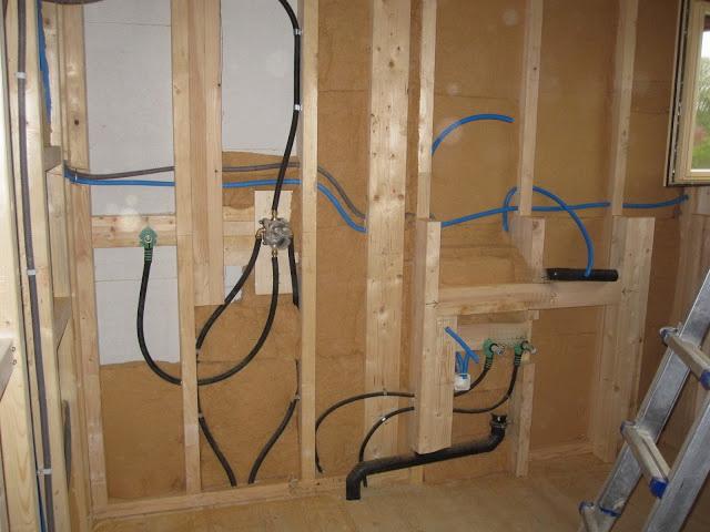 монтаж электрическая проводка в бревенчатом доме