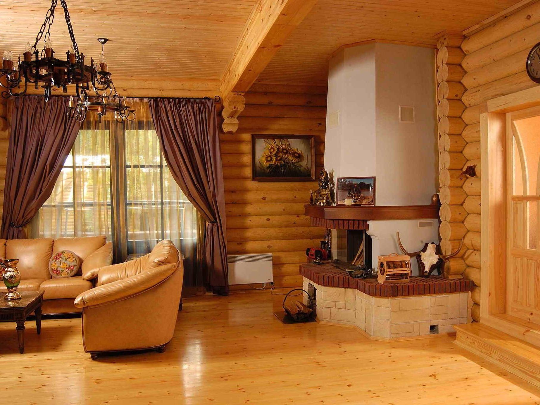 Отделка деревянного дома в Орехово Зуево